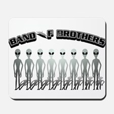 Alien Band of Brothers Grey Mousepad