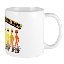 Alien Band of Brothers Orange Mug