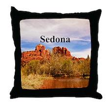 Sedona_6x6_v1_CathedralRock Throw Pillow