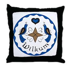 Wilkum 2 Throw Pillow