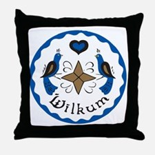 Wilkum 2 Throw Pillow