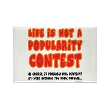 Popularity Rectangle Magnet (10 pack)
