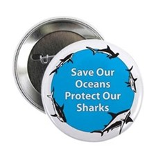 Save Our Oceans. Protect Our Button