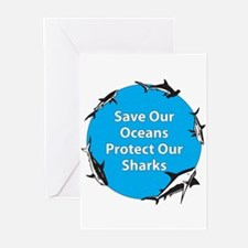 Save Our Oceans. Protect Our  Greeting Cards (Pack