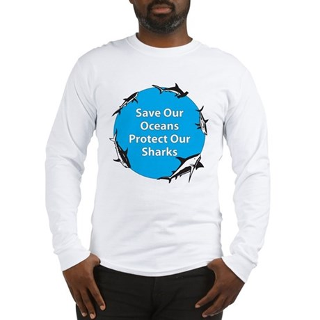 save our oceans protect our long sleeve t shirt