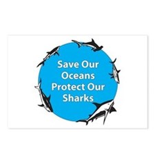 Save Our Oceans. Protect Our  Postcards (Package o