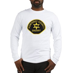 Monterey County Sheriff Long Sleeve T-Shirt