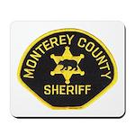 Monterey County Sheriff Mousepad