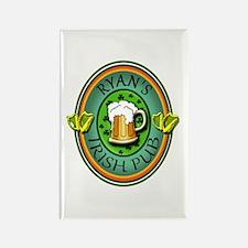 CUSTOM Irish Pub Sign Rectangle Magnet