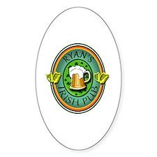 CUSTOM Irish Pub Sign Decal
