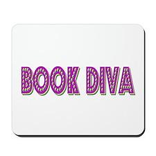 Book Diva (Purple) Mousepad