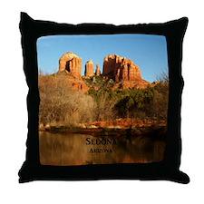Sedona_11.5x11.5_CathedralRock Throw Pillow