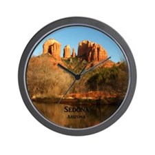 Sedona_11.5x11.5_CathedralRock Wall Clock