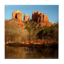 Sedona_11.5x11.5_CathedralRock Tile Coaster