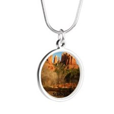 Sedona_11.5x11.5_CathedralRo Silver Round Necklace