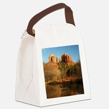 Sedona_11.5x11.5_CathedralRock Canvas Lunch Bag