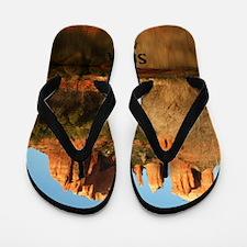 Sedona_11.5x11.5_CathedralRock Flip Flops