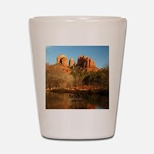 Sedona_11.5x11.5_CathedralRock Shot Glass