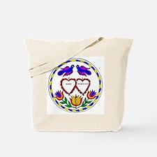 Romance Hex Tote Bag