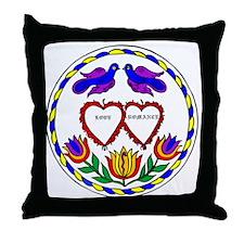 Romance Hex Throw Pillow