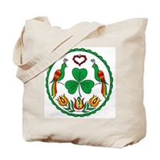Irish Hex Tote Bag