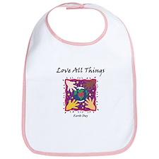 Love All Things Bib