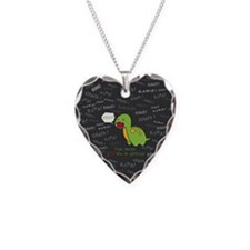 Rawr Means I Love You Necklace