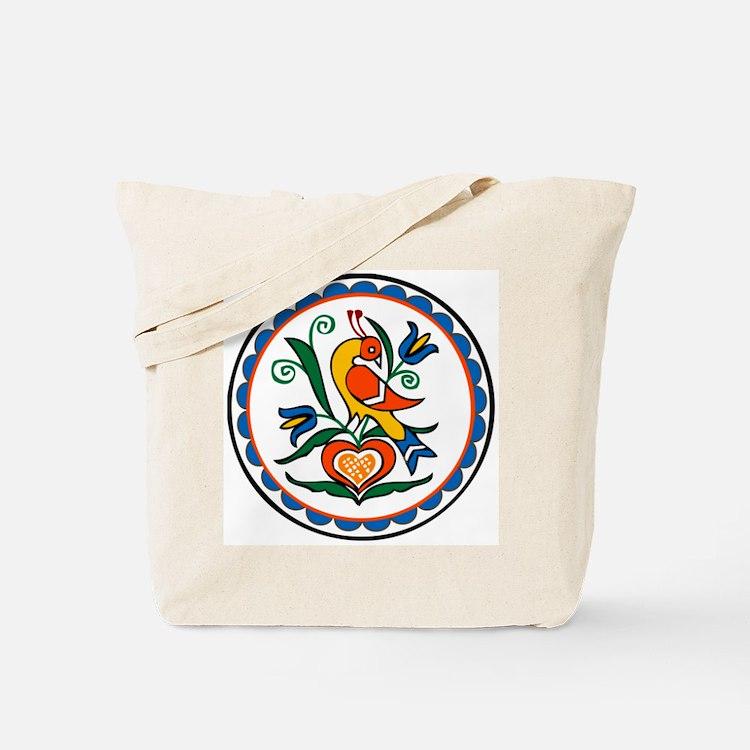 Distlefink Hex Tote Bag
