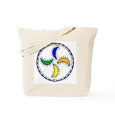 Four Seasons Hex Tote Bag