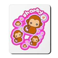Shorty Monkey Mousepad
