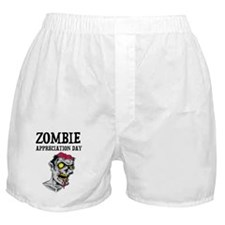 Zombie Appreciation Day Boxer Shorts