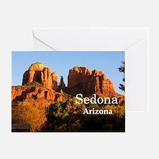 Sedona_12.2x6.64_CathedralRock Greeting Card