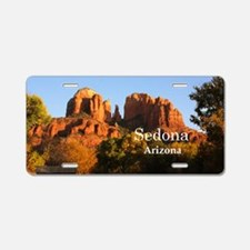 Sedona_12.2x6.64_CathedralR Aluminum License Plate