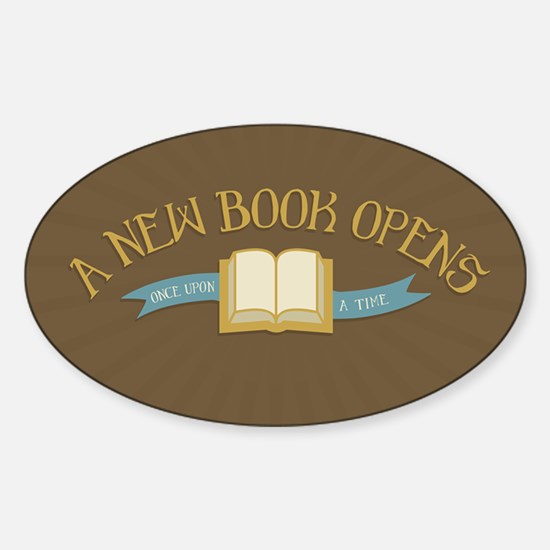 A New Book Opens OUAT Decal