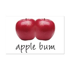 Apple Bum Posters
