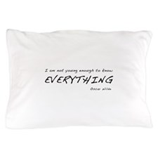 Know It All Pillow Case