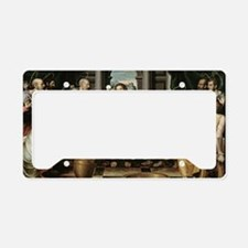 The Last Supper License Plate Holder