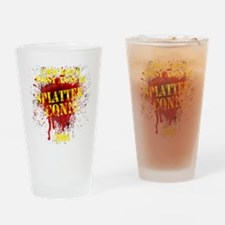 Splatter Con!!! Dark Drinking Glass