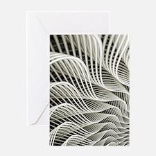 Oscillation  Greeting Card