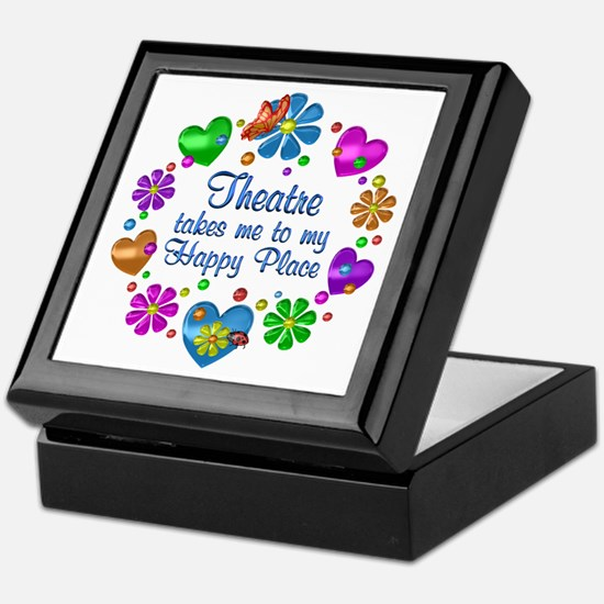 Theatre My Happy Place Keepsake Box