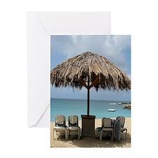 St. Martin Beach 3 Greeting Card