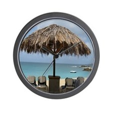 St. Martin Beach 3 Wall Clock