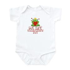 Valentine Frog Infant Bodysuit