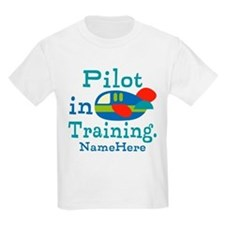 Personalized Pilot in Training T-Shirt