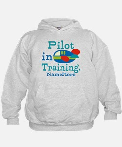 Personalized Pilot in Training Hoodie