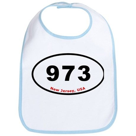 973 - Oval Euro Sticker Desig Bib