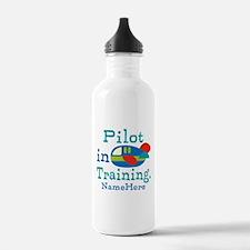 Personalized Pilot in Training Water Bottle