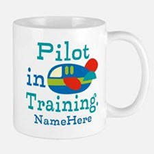 Personalized Pilot in Training Mugs