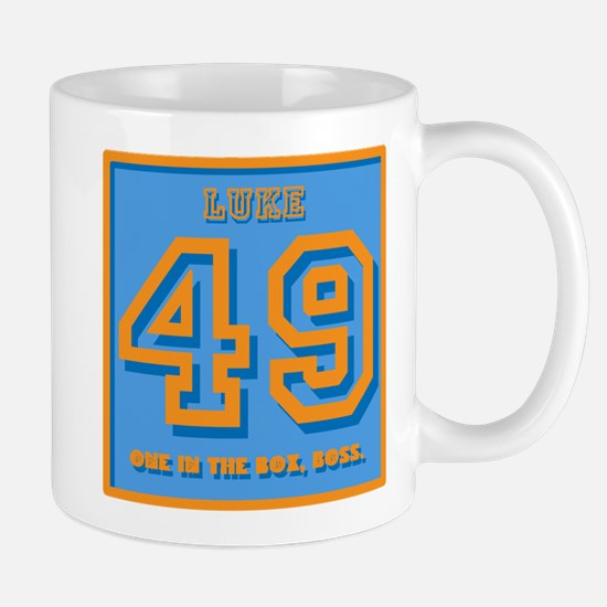 49, one in the box, Boss Mugs