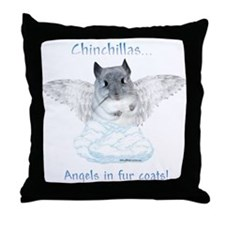 Chinny Angel Throw Pillow